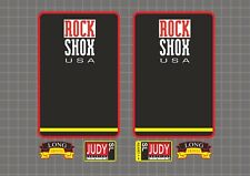 Rock Shox Judy SL 1997 Forks Decals Stickers Graphic Set Vinyl Logo Adhesive