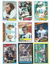 30 Different Penn State Vintage Alumni Football Cards; 1981-1988