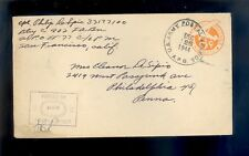 WW II Army APO 77 HAWAII Censored Cover Dec. 26, 1944