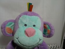 Bonbon Purple Monkey By The Manhattan Toy Company Toy Stuffed Plush Pre- owned