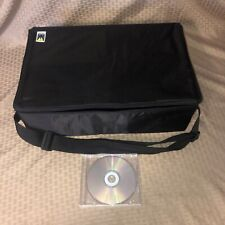 Clean 60 CD Tote: CONDUCTOR SERIES: Carry Case STORAGE VTG DJ Padded Hard