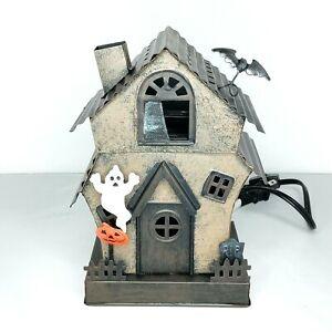 Scentsy Manic Mansion Halloween Haunted House Wax Warmer Plug In Retired NIB