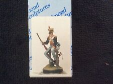 Almond Sculptures 90mm British Light Dragoon Trooper, Campain dress, 1812-15
