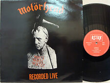 MOTORHEAD - What's Words Worth? (Recorded Live) LP (RARE German Import) MINT-