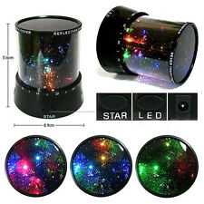 Kids Bedroom Night Starry Lamp Master Projector Sky Star LED Light Xmas Gift HK