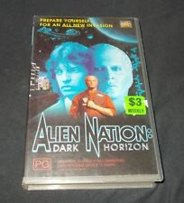 ALIEN NATION DARK HORIZION VHS PAL FOX VIDEO