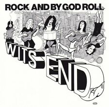 CD WITS END - Rock And By God Roll / Texas Hardrock Southern Rock 1979