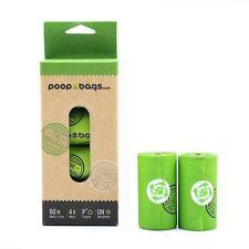 The Original PoopBags 60ct Biodegradable Dog Waste / Poop Bags