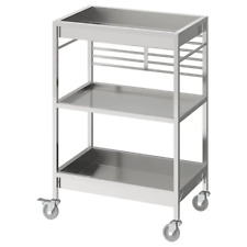 *New*  KUNGSFORS Kitchen trolley, stainless steel, 60x40 cm 803.349.24 * IKEA*