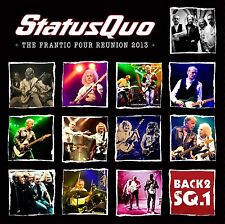 STATUS QUO - BACK2SQ1 (BOX-SET) 5 CD + BLU-RAY NEU