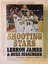 SHOOTING STARS LeBron James and Buzz Bissinger 2009 Hardcover SVSM Autobiography