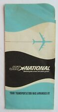Airline Ticket Jacket For National Airlines 1964