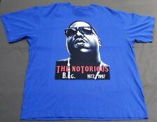 Biggie/The Notorious B. I. G. - Hip Hop Deadstock Xxxxl Royal Blue