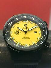 Zixen DSR1000 Hydromatic Deep Sea Research 1000m Diver Yellow PVD 44mm Swiss