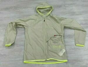 Under Armour L Yellow Qualifier Storm Packable Jacket Reflective 1326597 Run