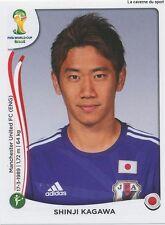 N°256 SHINJI KAGAWA # JAPAN STICKER PANINI WORLD CUP BRAZIL 2014