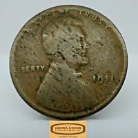 1911-D  ONE LINCOLN WHEAT CENT #11