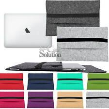 "Felt Wool Sleeve Case Cover Bag For Apple Macbook Air/Pro/Retina 11"" 12"" 13"" 15"""