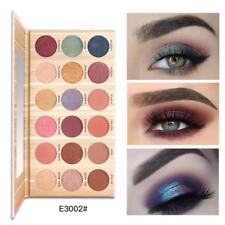 18 Color Cosmetic Matte Eyeshadow Cream Eye Shadow Makeup Palette Shimmer Set QJ