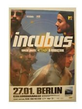 Incubus Poster Berlin Band Scattered Concert Good