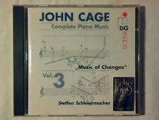 STEFFEN SCHLEIERMACHER John Cage complete piano music vol. 3 Music of changes cd