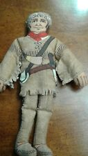 Davy Crockett King of the Wild Frontier Hallmark Cloth Doll 79 Famous Americans
