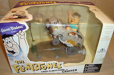 HANNA-BARBERA SERIES THE FLINTSTONES: FRED FLINTSTONES IN CRUISER McFARLANE TOYS