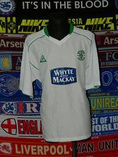 """5/5 Hibernian adults 3XL 2004 50/52"""" MINT football shirt jersey trikot soccer"""