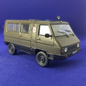 UAZ 3972 VAGON Ambulance Soviet Minibus 1990 Year 1/43 Scale Diecast Model Car