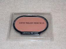Ultima II MEDIUM TO DEEP Glowtion Translucent Pressed Powder Refill .32 oz New