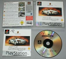Porsche Challenge - Playstation One Game PS1 PS2 PS3 - PAL complete platinum