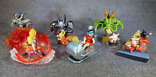 Gashapon HG DRAGONBALL Z Imagination Figure Set of 6 BANDAI Anime JAPAN