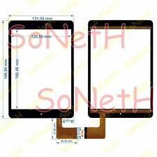 """Vetro Touch screen Digitizer 7,85"""" BRONDI SURFING TAB A 3G Tablet PC Nero"""