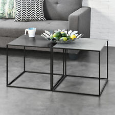 2x Couchtisch Beistelltisch Wohnzimmertisch Tisch Kaffeetisch 2er Set