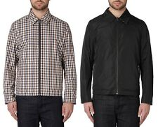 AQUASCUTUM Vicuna House Check & Black REVERSIBLE Jacket Coat MED (UK38-40) BNWT