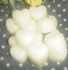 30 SMOKE & ODOR ELIMINATOR Wax Melts CHUNKY HEARTS Scented Candle Wax Tarts