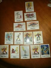 Vintage 1986 Lot of 13 He-Man Masters of the Universe Wonder Bread Trading Cards