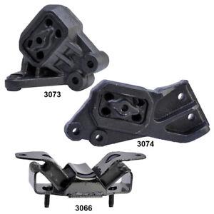 Engine Motor & Trans. Mount Set 3Pcs for Dodge Ram 1500 4.7/5.7L 4WD