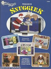 Mailbox Snuggies Plastic Canvas Cover Patterns Diane T. Ray TNS Holidays NEW