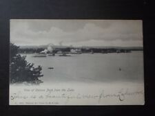 View Of Celoran Park From The Lake, Vtg 1900's Postcard - Ferris Wheel