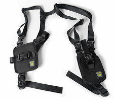 Nylon Anti-Theft Hidden Underarm Holster Style Shoulder Wallet Phone Bag Black