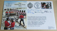 1992 5x Signed Flight Cover Commemorating The Crimean War 1855