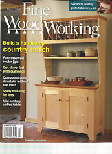 TAUNTON'S FINE WOOD WORKING, OCTOBER, 2014 (BUILD A HANDSOME COUNTRY HUTCH)