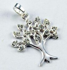 Crystal Silver Pendants Jewellery
