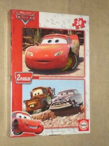 Educa Disney Cars 2 x 20 pcs jigsaw puzzle 13096 new sealed