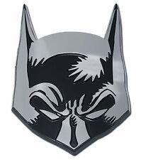 Batman Chrome Auto Emblem (Bat Mask) Officially Licensed DC Comics