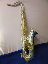 KING SUPER 20 TENOR SAXOPHONE WITH PEARL KEYS, COMPLETELY RESTORED!