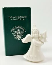 Goebel Annual Ornament 1979 Second Edition White Angel Holding Tree