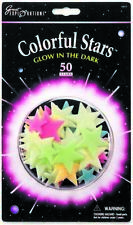 Great Explorations Glowing Colourful Stars 50 Pack 08948