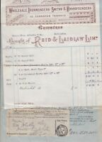 Messrs T. Johnson & Co. 1902 Bought of Reid & Laidlaw Limited Receipt Ref 32815